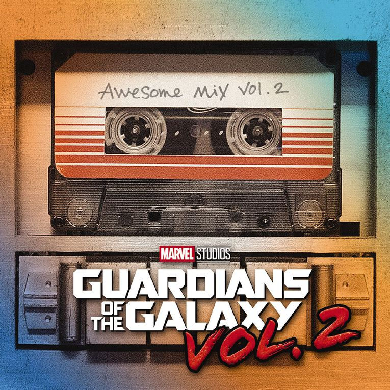Guardians of the Galaxy Vol. 2 CD by Various 1Disc, , hi-res