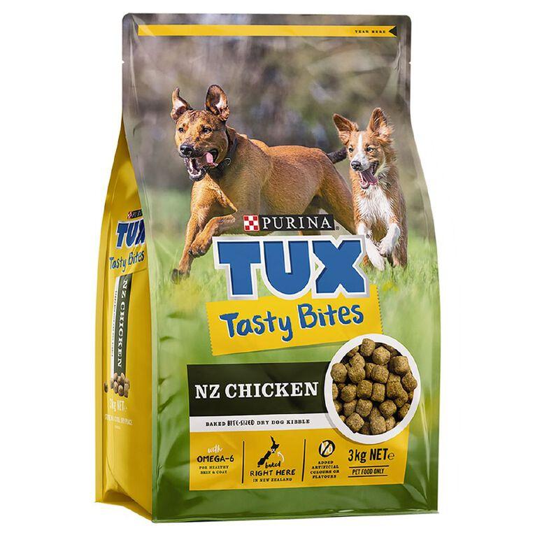 TUX Tasty Bites Chicken 3kg, , hi-res