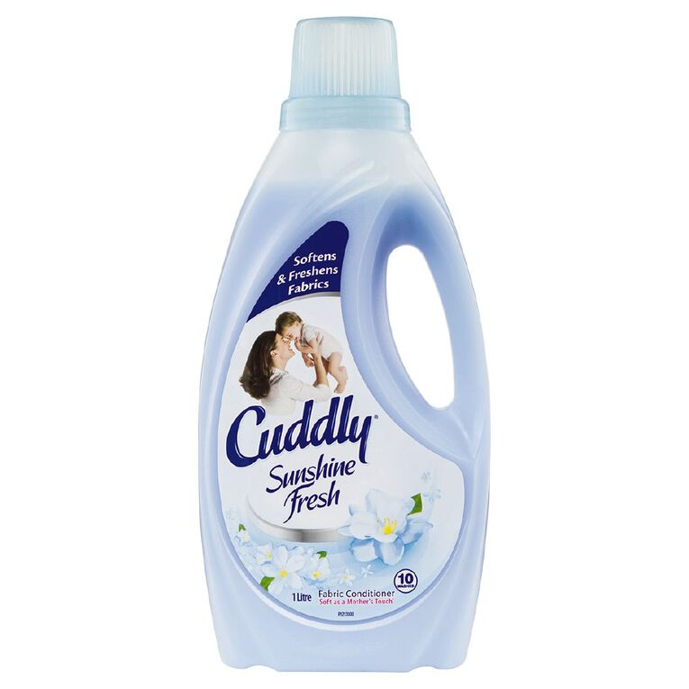 Cuddly Fabric Softener Sunshine Fresh  1L, , hi-res
