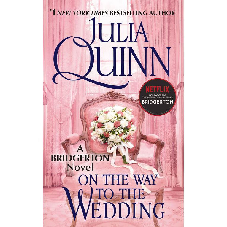 Bridgerton #8 On The Way to the Wedding by Julia Quinn, , hi-res image number null