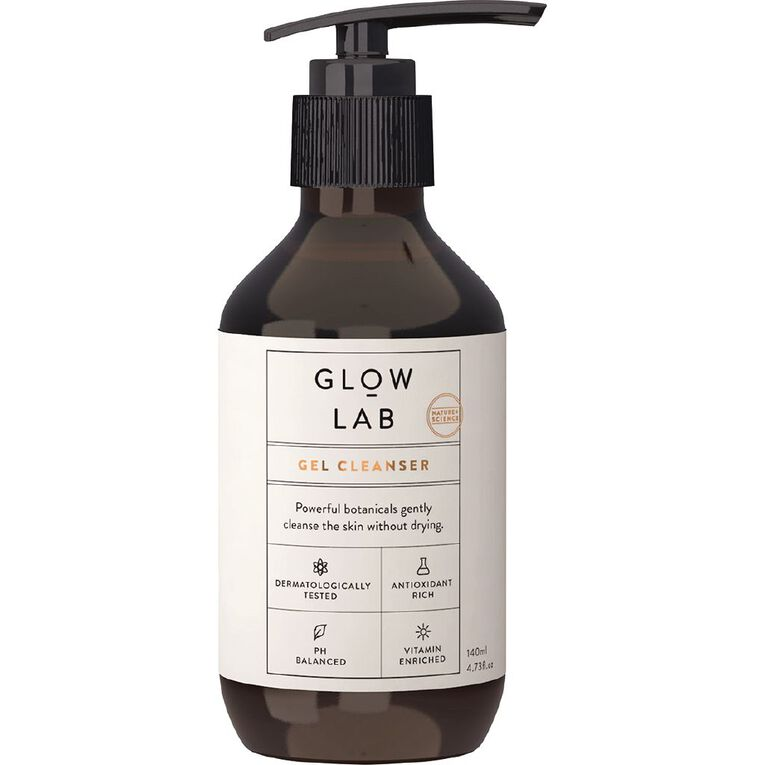 Glow Lab Gel Cleanser 140mL, , hi-res