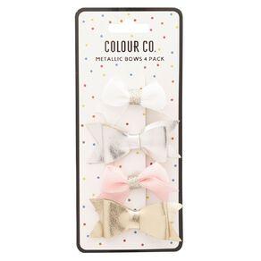 Colour Co. Metallic Bows 4 Pack