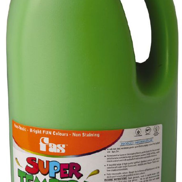 FAS Paint Super Tempera 2L Leaf Green 2L, , hi-res