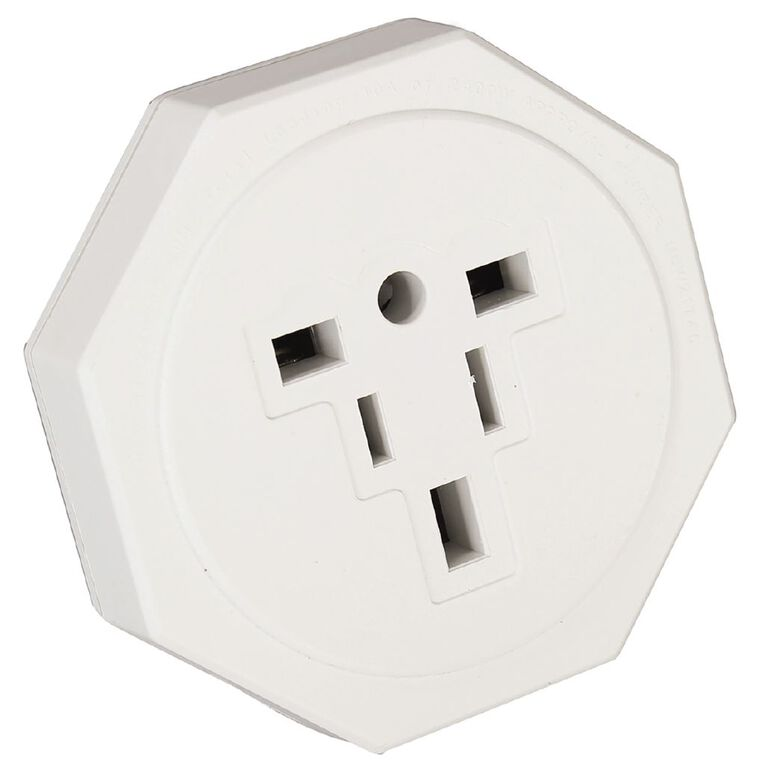Edapt Universal Travel Adapter White, , hi-res