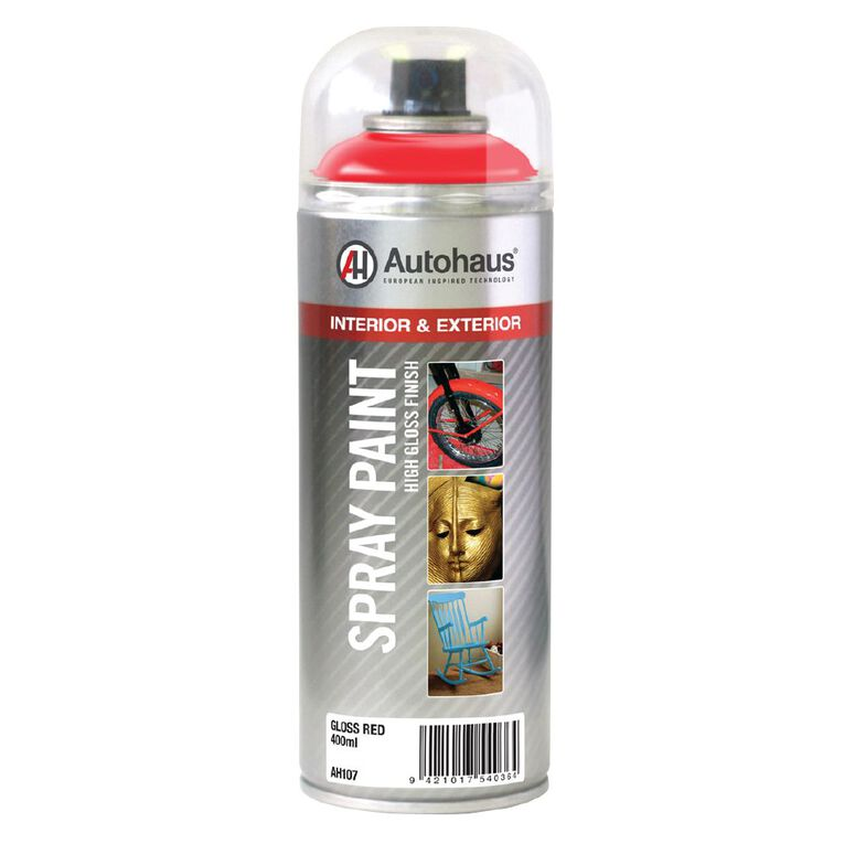 Autohaus Spray Paint Red 400ml, , hi-res