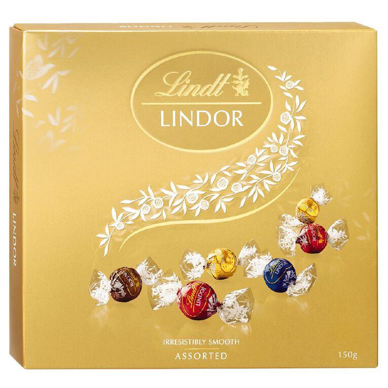 Lindt Lindor Assortment of Chocolates Gift Box 150g, , hi-res