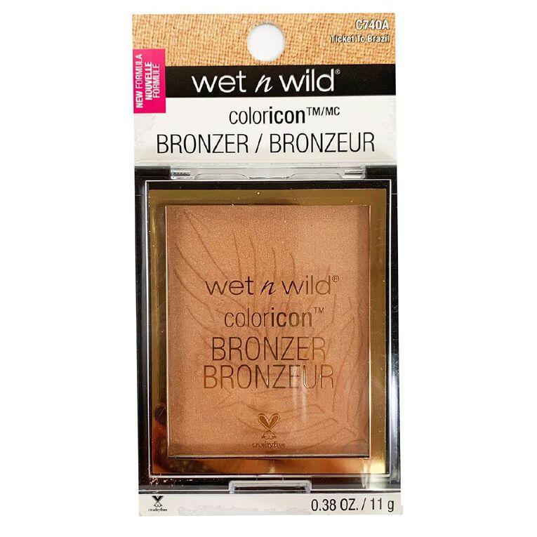 Wet n Wild Color Icon Bronzer Ticket To Brazil, , hi-res