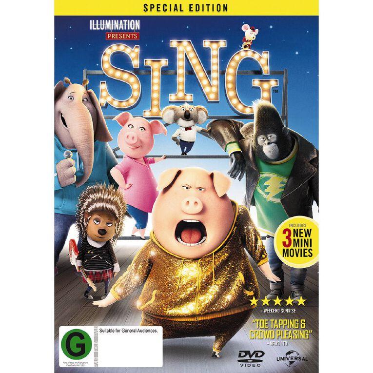 Sing DVD 1Disc, , hi-res