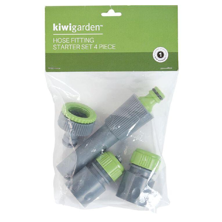 Kiwi Garden Hose Fitting Starter Set 4 Pack, , hi-res image number null