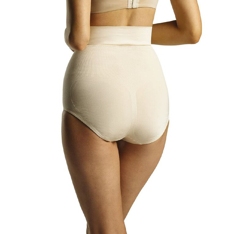 Clio Women's High Rise Briefs, Natural, hi-res image number null