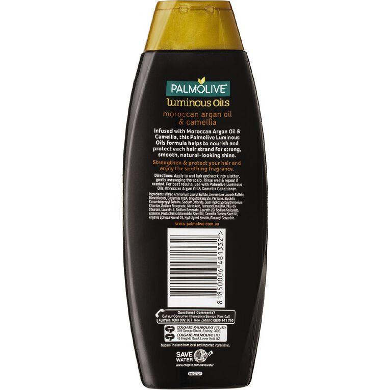 Palmolive Luminous Oils Moroccan Argan Oil & Camellia Shampoo 350ml, , hi-res