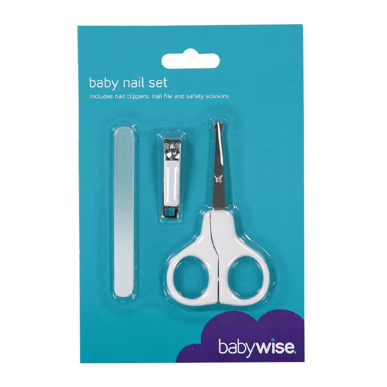 Babywise Nail Set, , hi-res