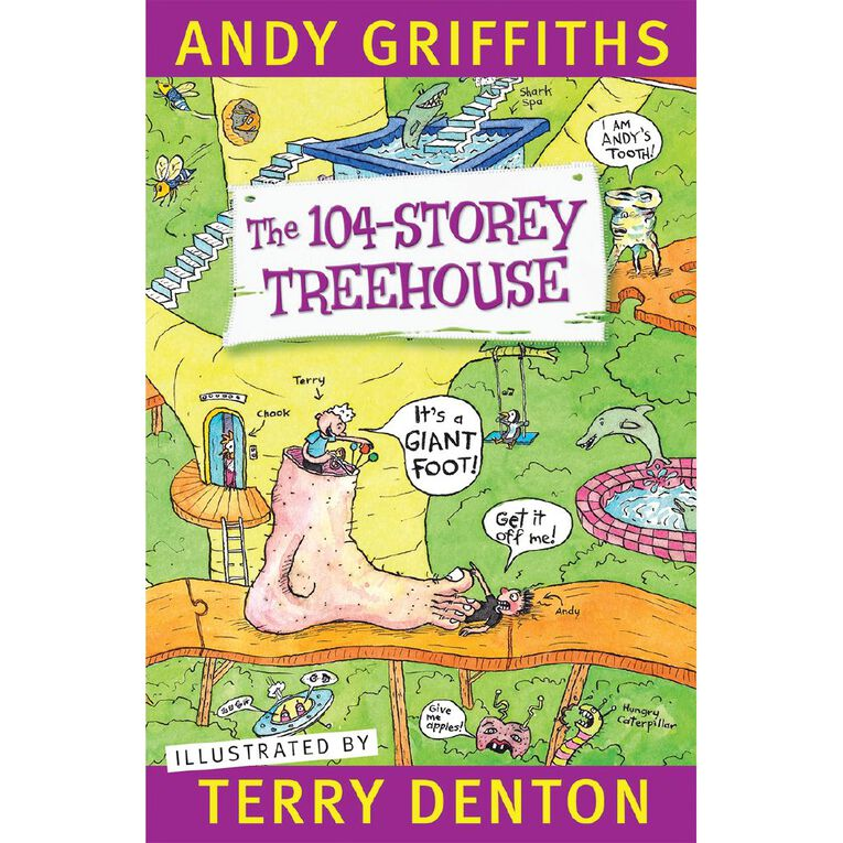 The 104 Storey Treehouse by Andy Griffiths, , hi-res