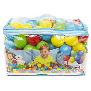 Fun Balls 100 Pack Multi-Coloured 50mm