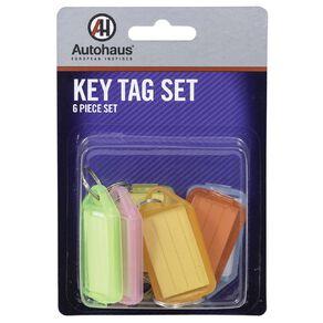 Autohaus Key Tag Set 6 Piece
