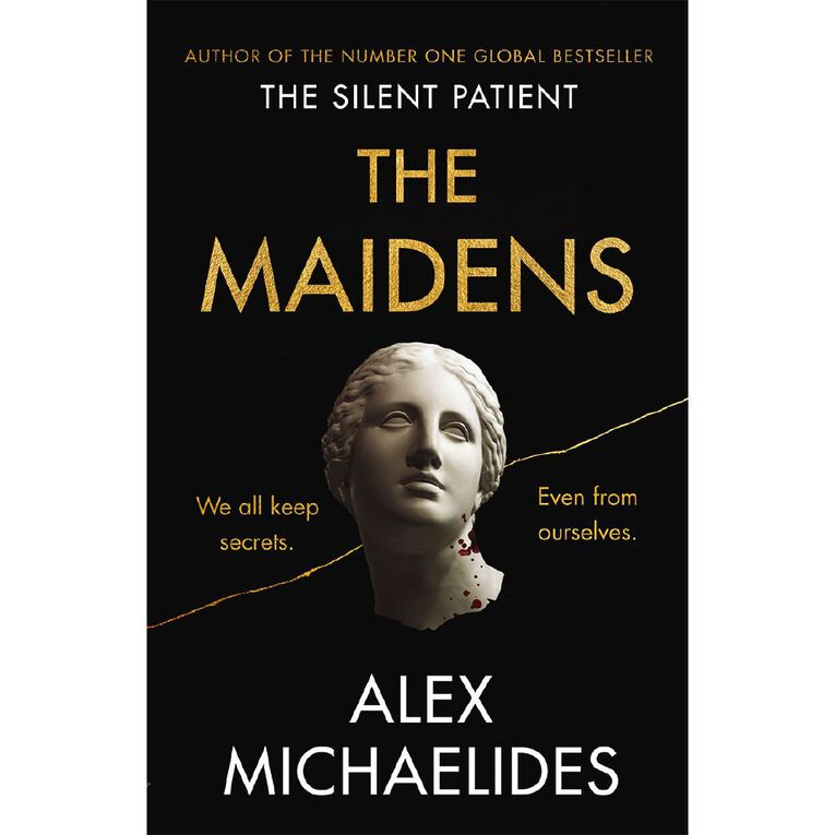 The Maidens by Alex Michaelides, , hi-res