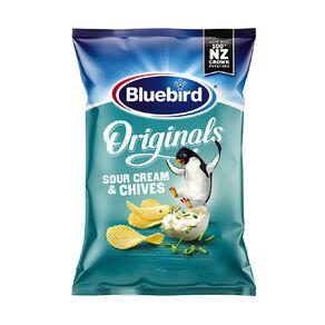 Bluebird Original Cut Sour Cream and Chives 150g