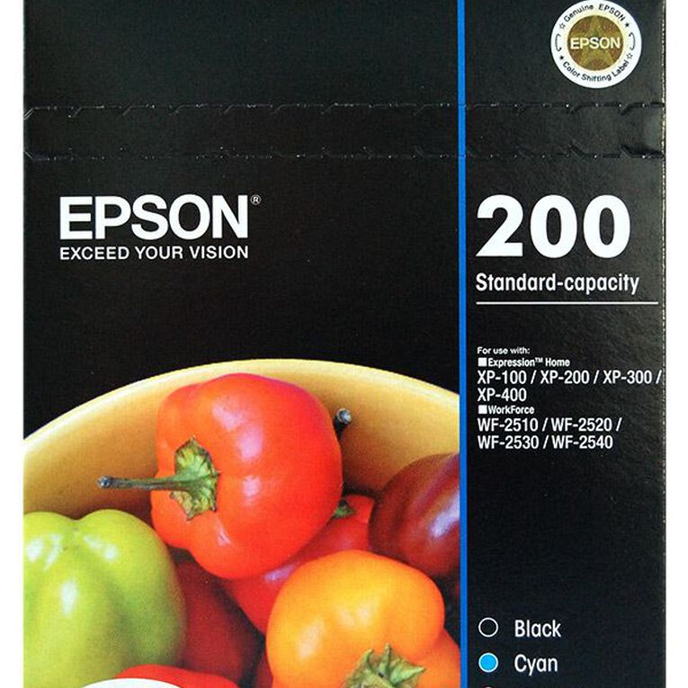 Epson Ink 200 Value 4 Pack, , hi-res