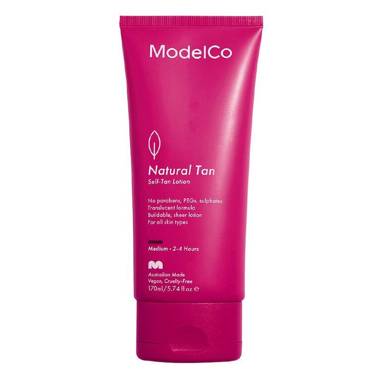 ModelCo Natural Tan Sensitive Self-Tan Lotion 170g, , hi-res