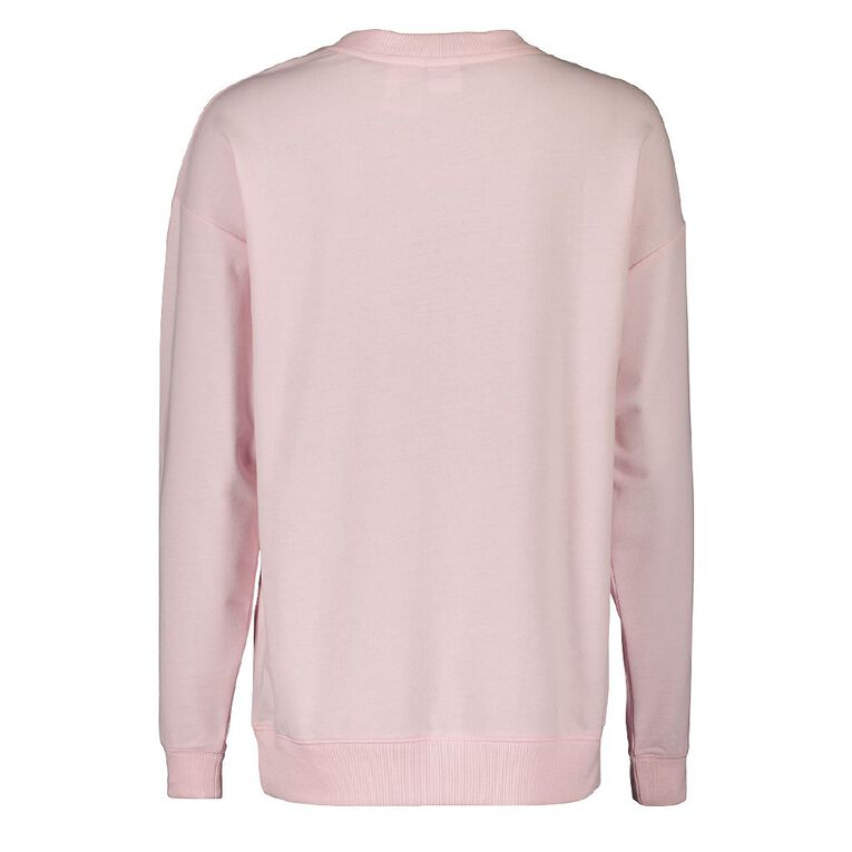 Disney Thumper Women's Long Sleeves Lounge Sweatshirt, Pink Light, hi-res