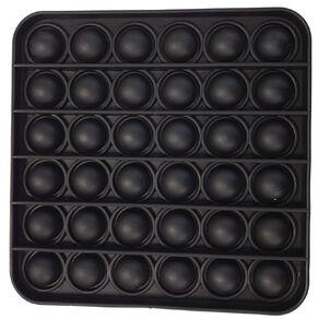 Fidget Pop-It Square Black