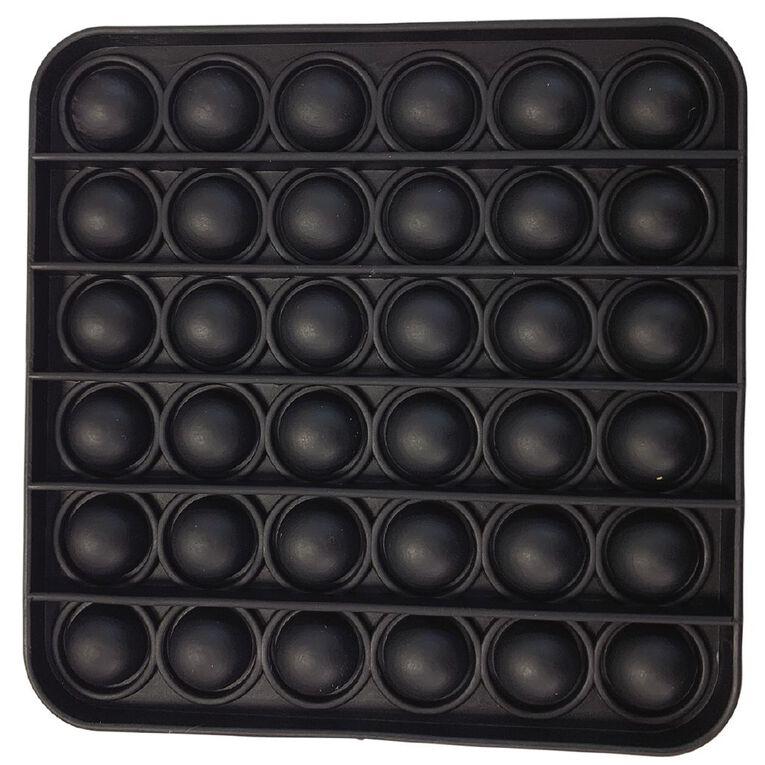 Fidget Pop-It Square Black, , hi-res
