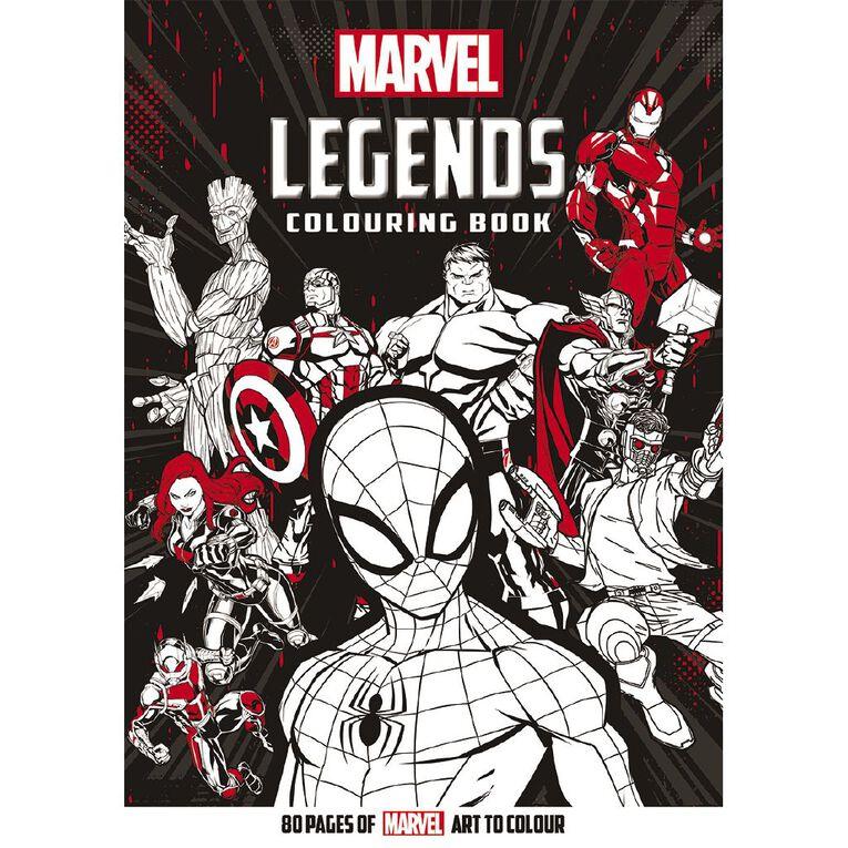 Marvel Legends Colouring Book, , hi-res