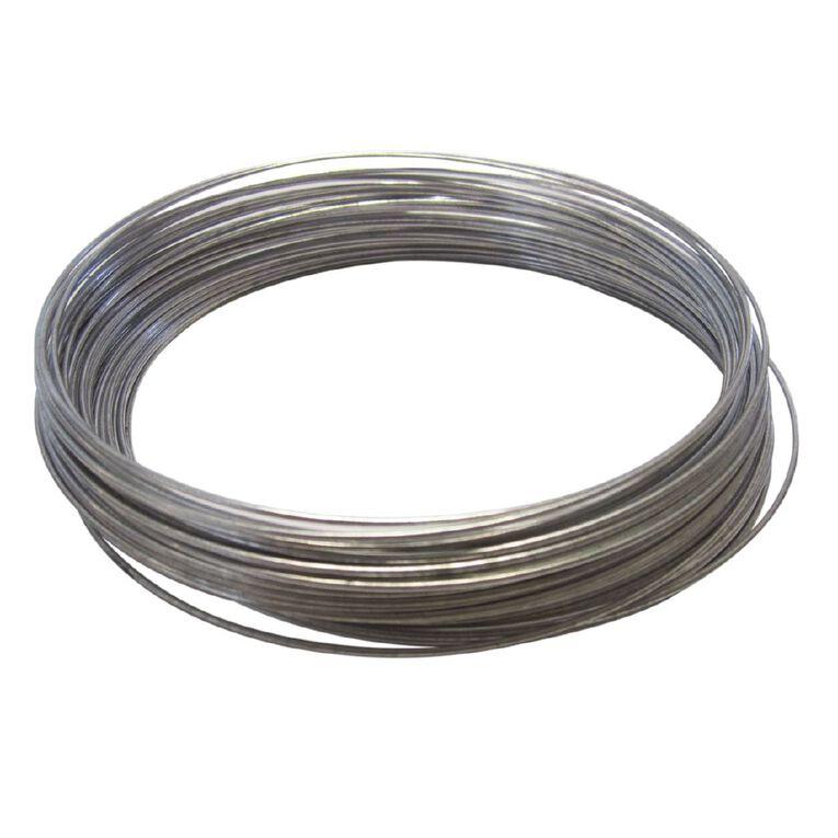 Mako Utility Tie Galvanised Wire 16 Gauge 1.6mm x 30m, , hi-res