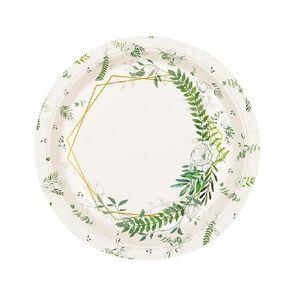 Party Inc Leaf Paper Plates 23cm 8 Pack
