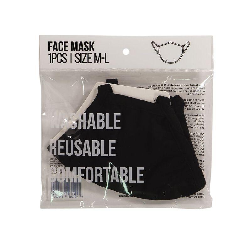 Washable Fabric Face Mask, , hi-res