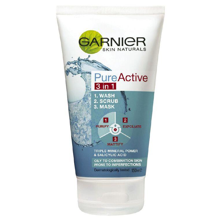 Garnier Pure 3-in-1 Cleansing Mask, , hi-res