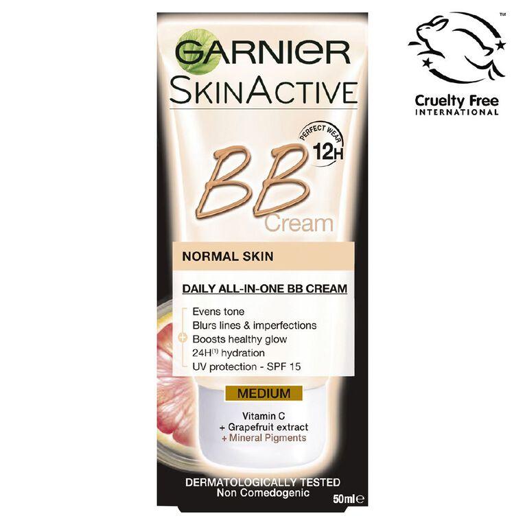 Garnier Miracle Skin Perfector BB Cream Medium 50ml, , hi-res