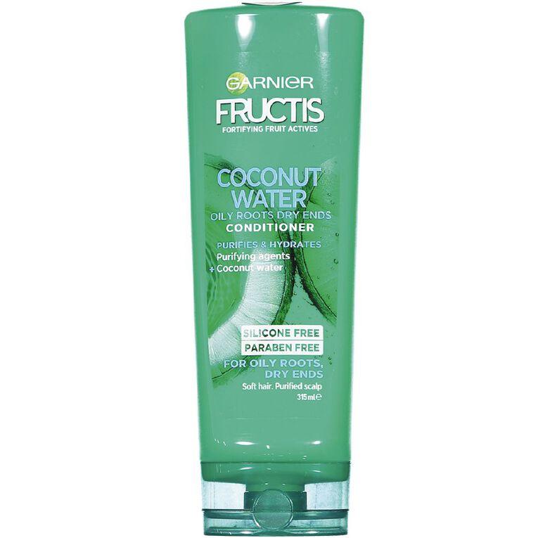Garnier Fructis Coconut Water Conditioner 315ml, , hi-res