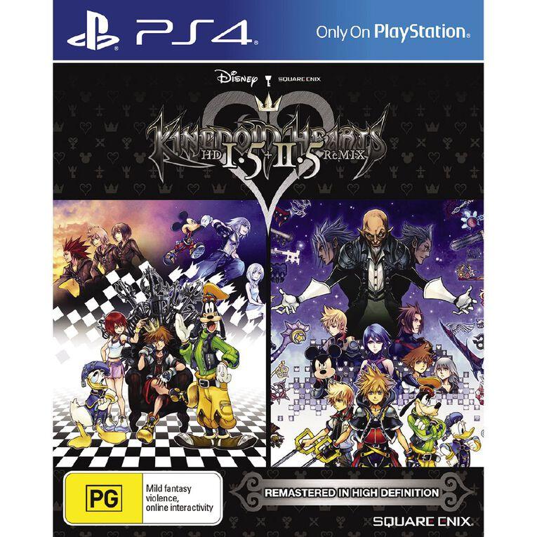 PS4 Kingdom Hearts HD 1.5 2.5 Remix, , hi-res
