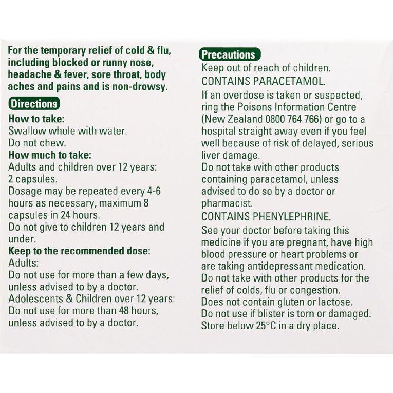 Lemsip Cold & Flu with Decongestant Capsules 16s LIMIT OF 1 PER CUSTOMER, , hi-res