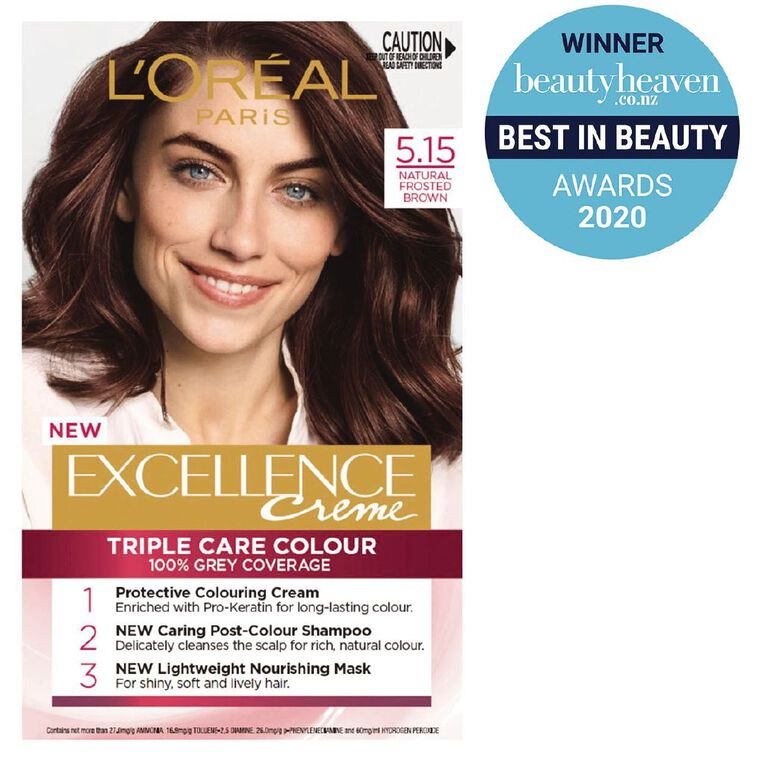 L'Oreal Paris Excellence Natural Frosted Brown 5.15, , hi-res