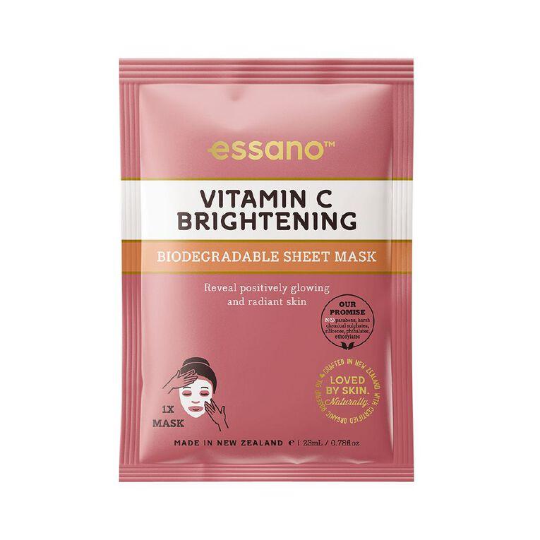 Essano Vitamin C  Sheet Mask 23ml, , hi-res