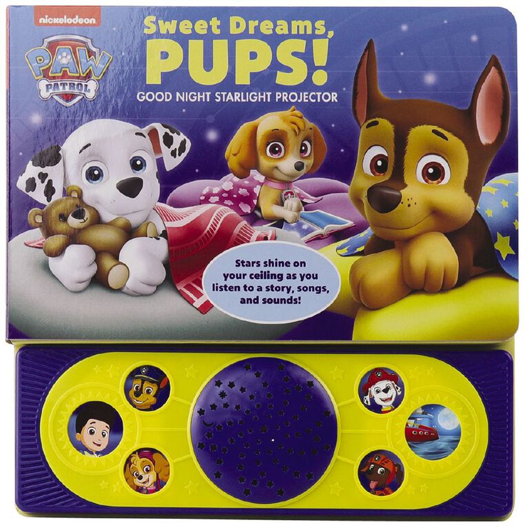Nickelodeon Paw Patrol Sweet Dreams Pups Starlight Projector, , hi-res image number null