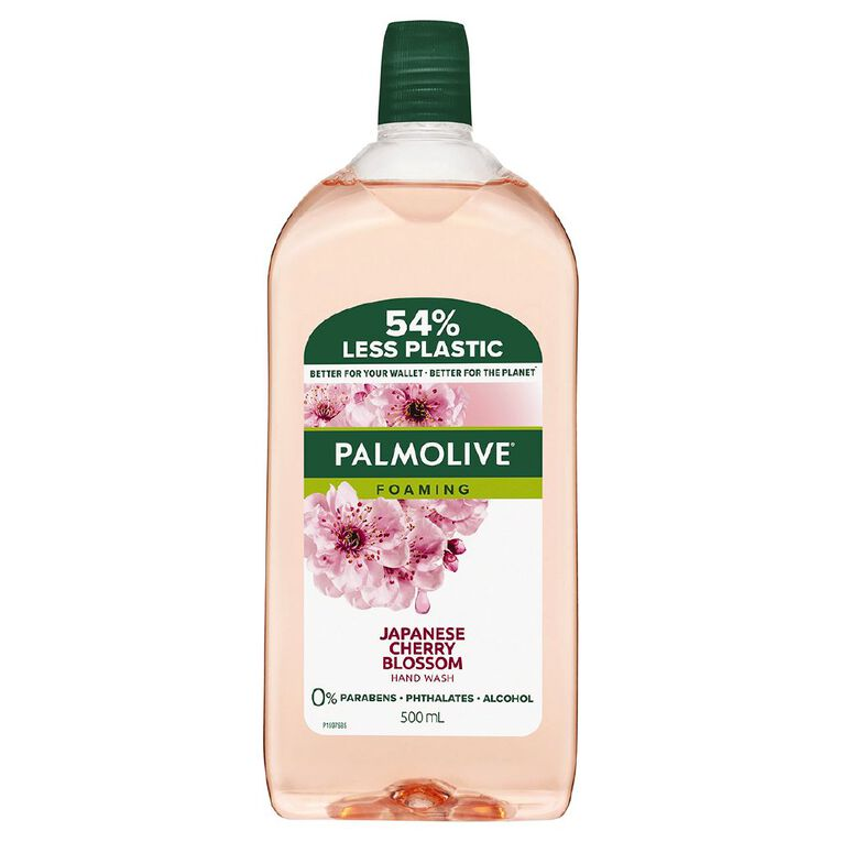 Palmolive Foaming Hand Wash Japanese Cherry Blossom Refill 500ml, , hi-res