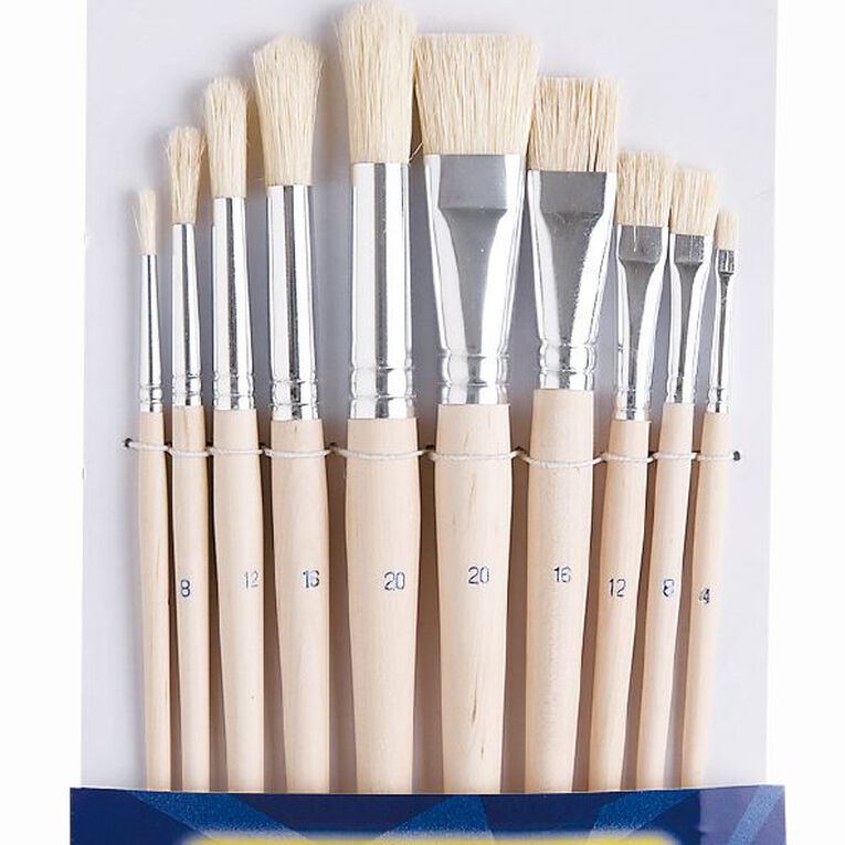 Jasart Paint Brush Short 10 Pack, , hi-res