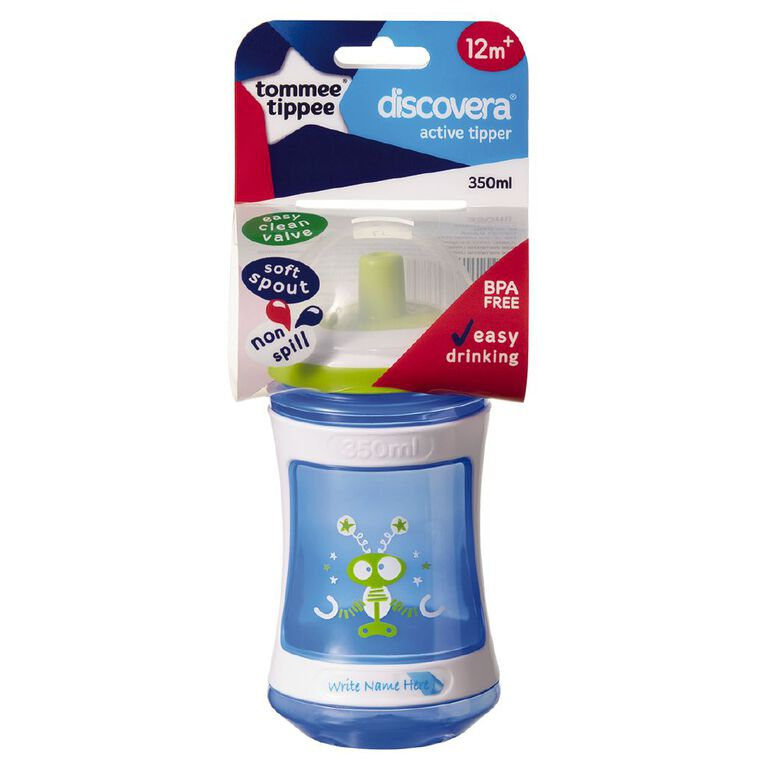 Tommee Tippee Discovera Active Tipper 12mths+ 350ml Assorted, , hi-res