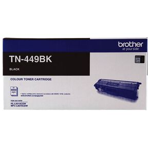 Brother Toner TN449BK Black (9000 Pages)