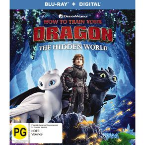 How To Train Your Dragon The Hidden World Blu-ray 1Disc