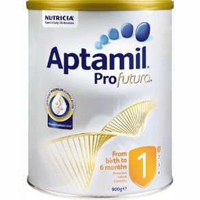 Aptamil Aptamil ProfuturaR Infant Formula From Birth to 6 Months 900g