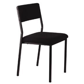 Workspace Stacker Chair Black