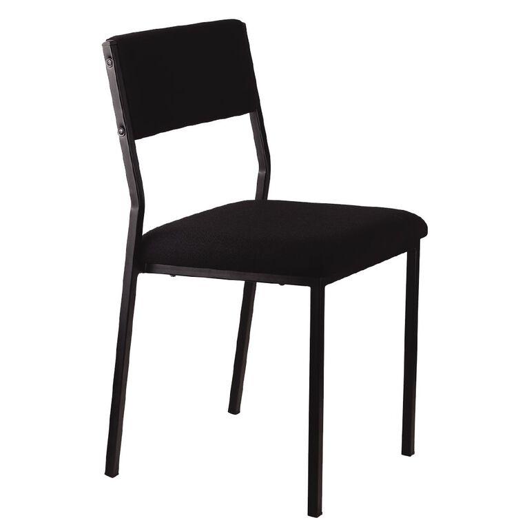 Workspace Stacker Chair Black, , hi-res