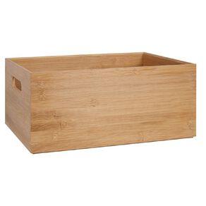Living & Co Bamboo Storage Box Natural 15.4L