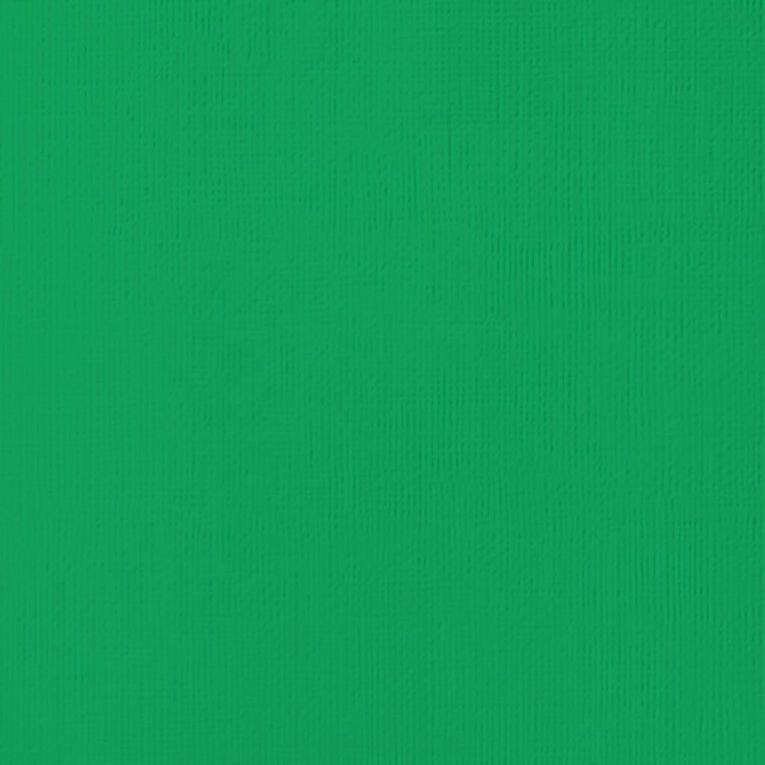 American Crafts Cardstock Textured Emerald 12in x 12in, , hi-res
