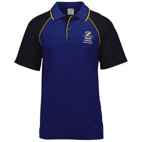 Schooltex Onewhero Area School Short Sleeve Polo with Embroidery