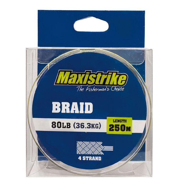 Maxistrike Braid 80lb 250m, , hi-res
